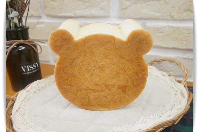 療癒系「熊頭麵包」好大一顆~~~