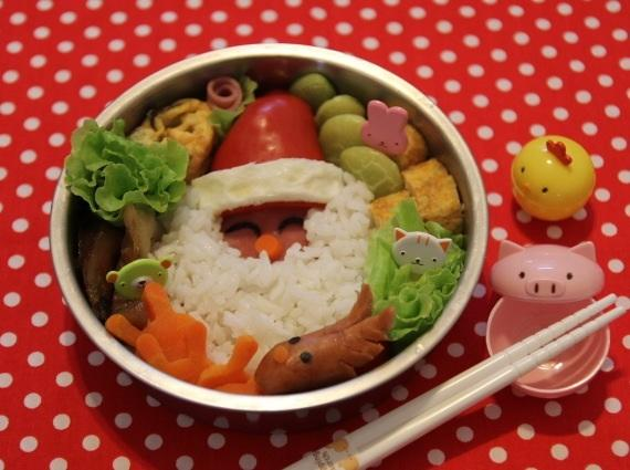Kitty喵-聖誕老公公飯糰