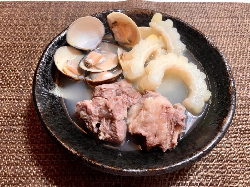苦瓜蛤蜊排骨湯