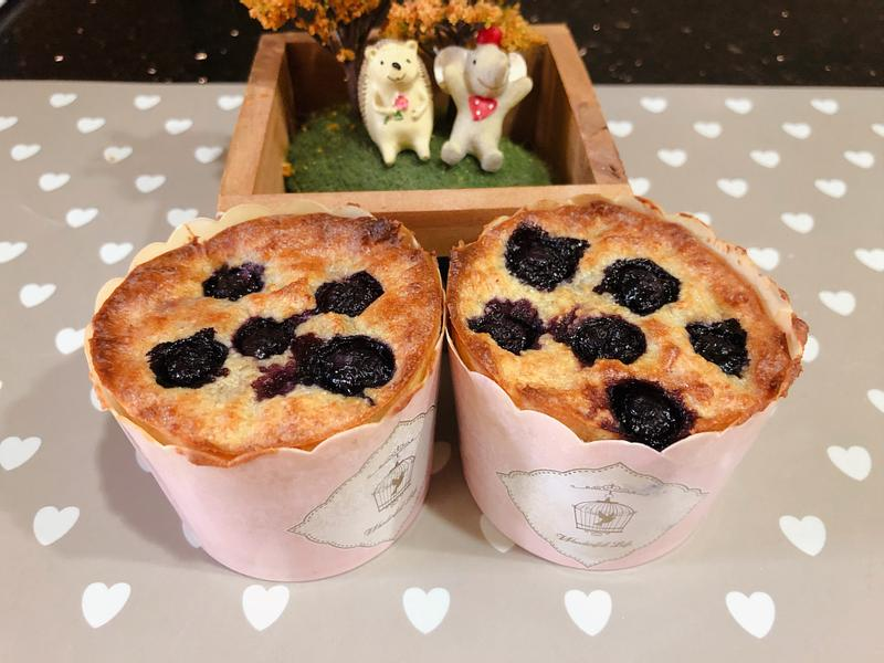 藍莓杯子蛋糕🧁無麩質無麵粉