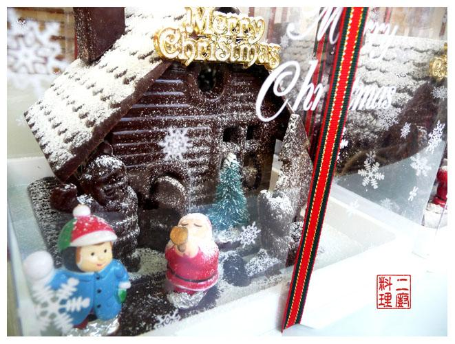 《二廚料理趣味》聖誕巧克力屋