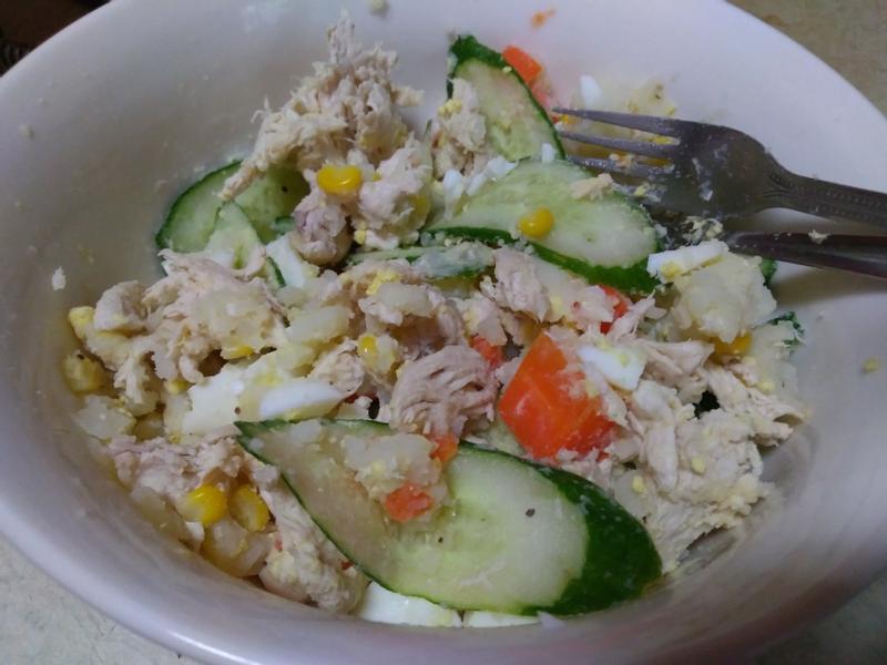 雞絲洋芋沙拉