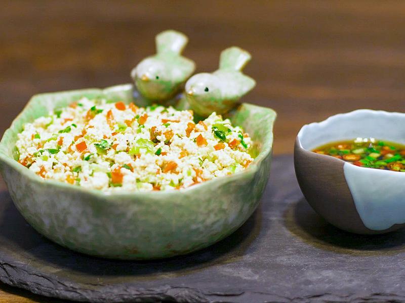 米其林三星餐廳版青菜豆腐