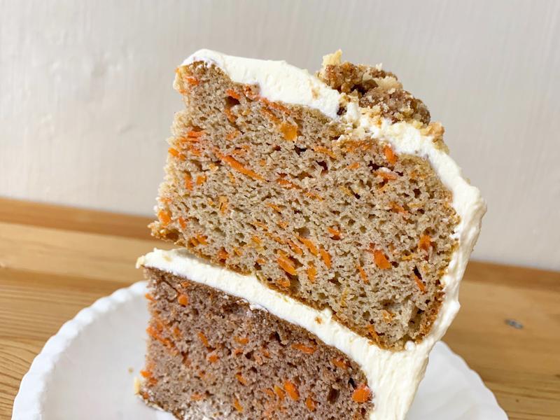 無麩質紅蘿蔔蛋糕🥕