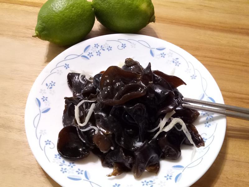 開胃小菜~檸檬🍋涼拌雲耳