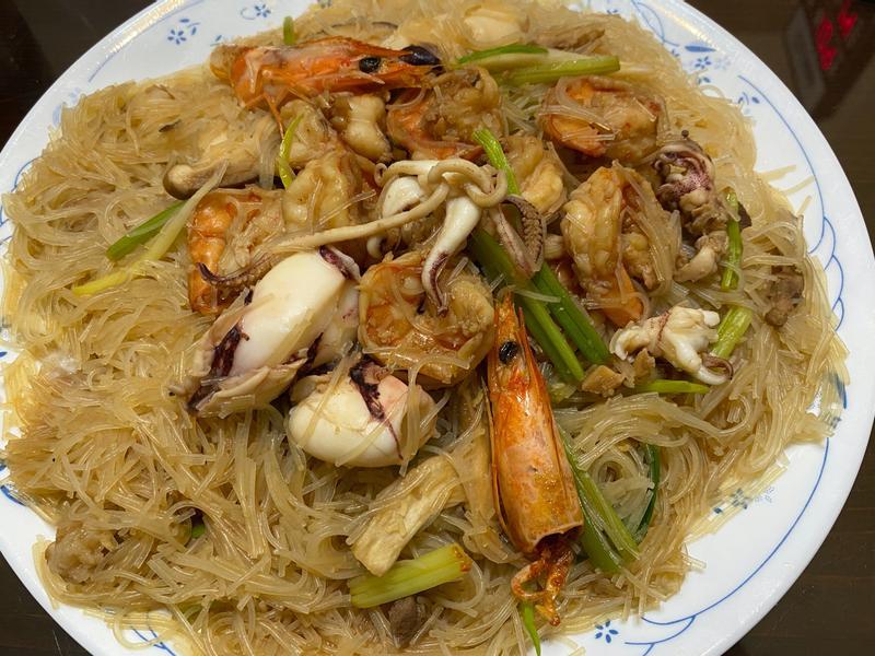 海鮮炒米粉(一鍋到底)