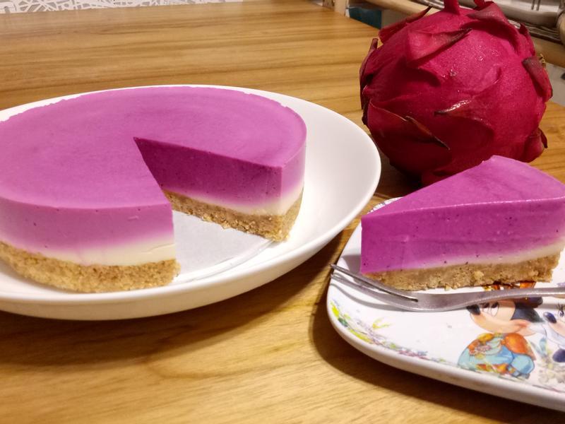 火龍果🌺漸層乳酪蛋糕