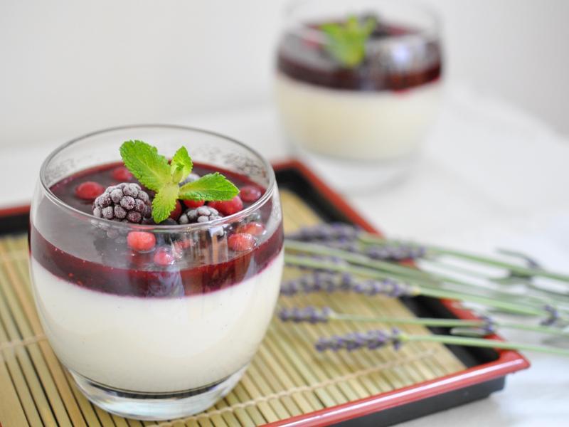 夏日莓果奶酪(無吉利丁,素食友善)