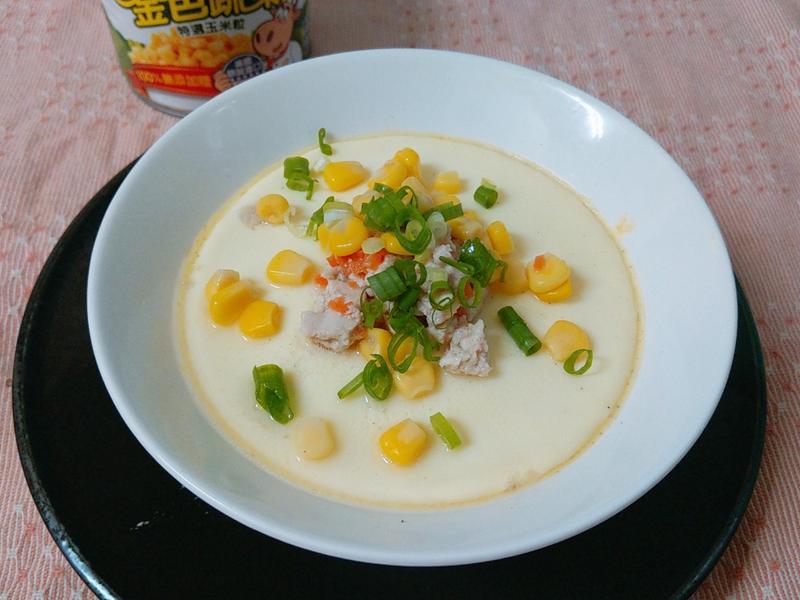 玉米粒雞柳蒸蛋