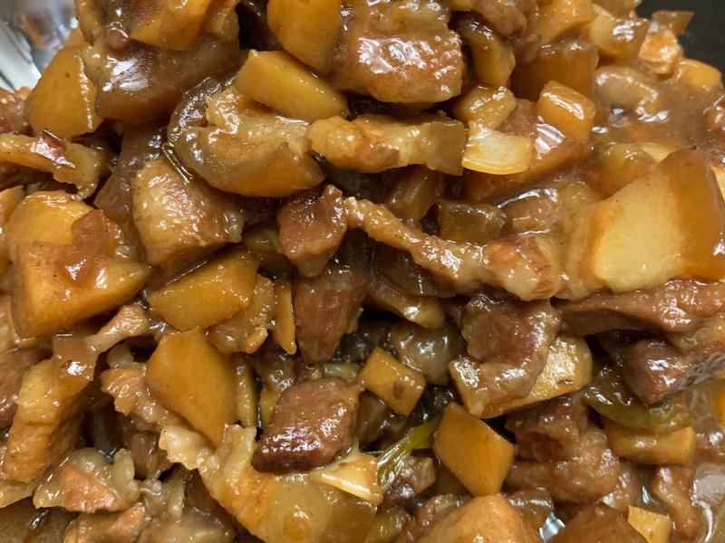 竹筍滷肉飯