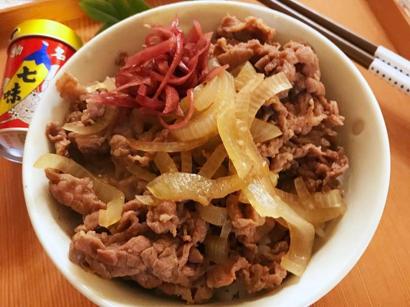 牛丼 (露營OK)