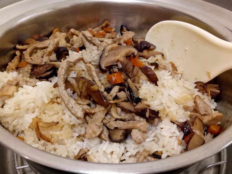 電鍋油飯(糯米免浸泡)