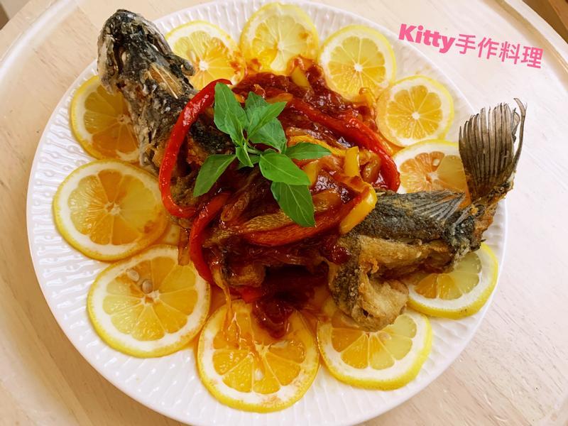 魚躍龍門年年有餘之糖醋魚