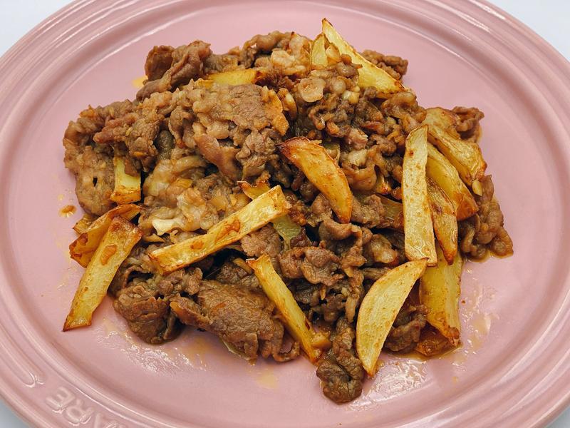 咖喱牛肉炒洋芋
