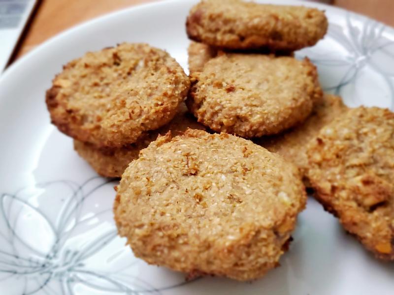 花生燕麥餅乾