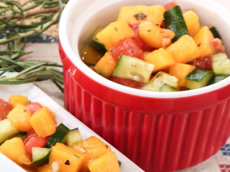 【厚生廚房】芒果鮮蔬沙拉
