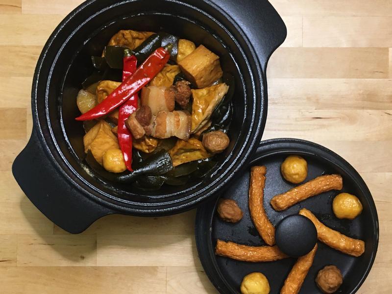 雪碧鐵鍋滷味