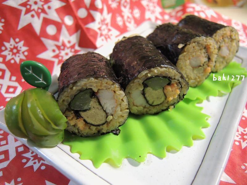 [榖盛綠咖哩]綠咖哩壽司