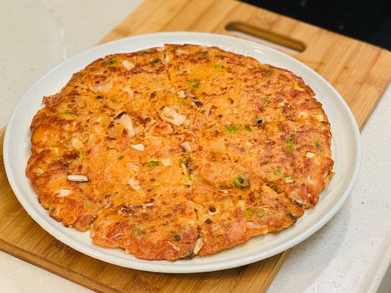 韓式豬肉泡菜煎餅