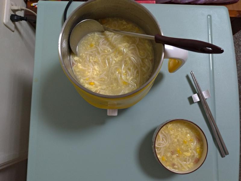 玉米濃湯麵