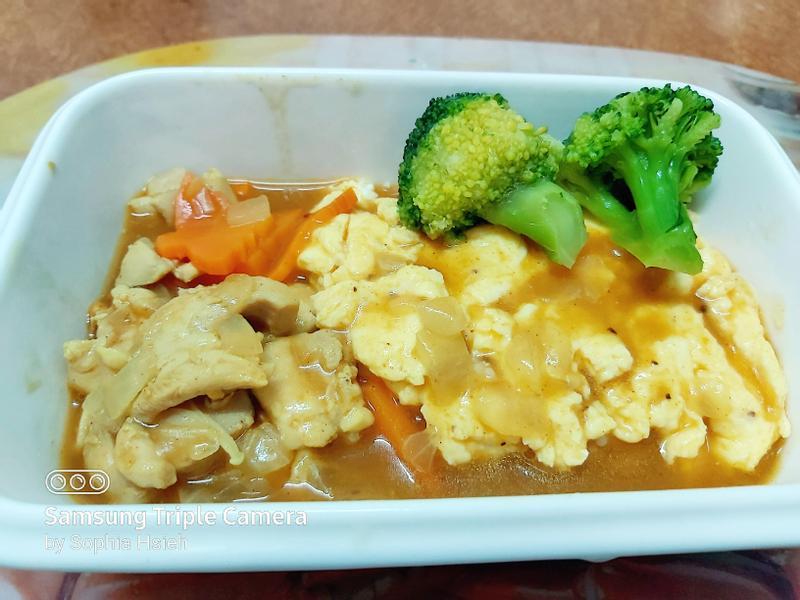 雞肉咖哩蛋包飯