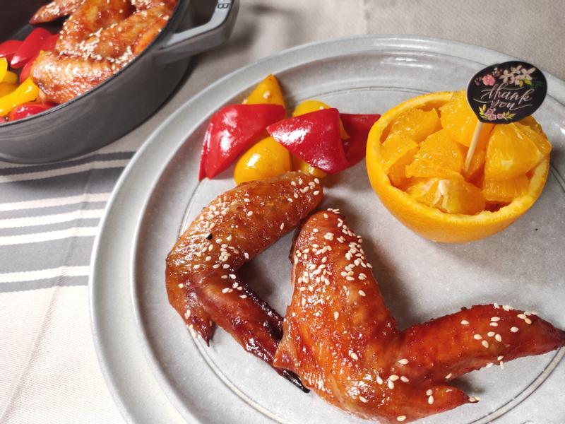 韓式辣醬烤雞翅