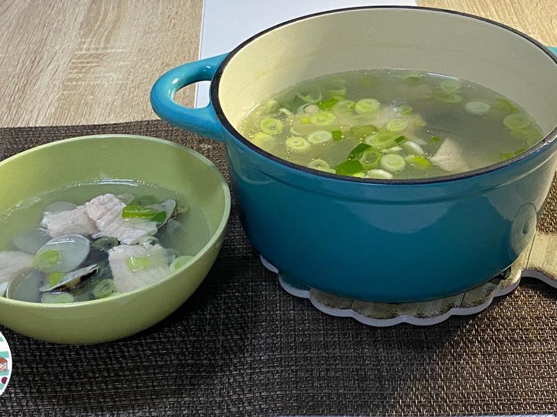 鮭魚蛤蜊湯