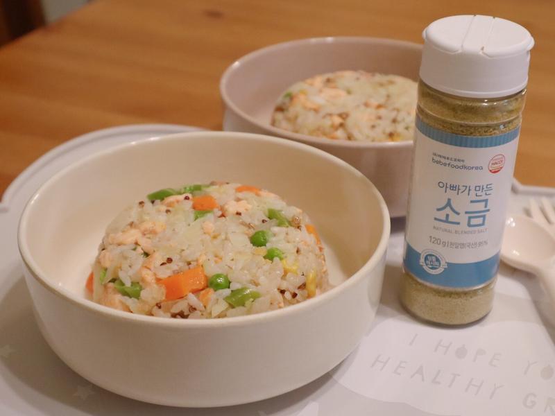 鮭魚高麗菜炒飯