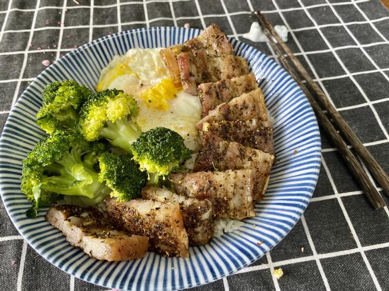 義式鹹豬肉飯
