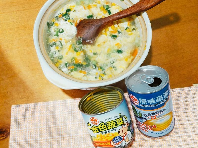快手玉米蛋花湯