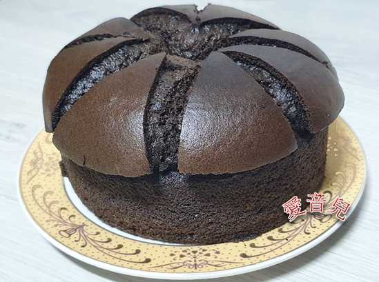 巧克力戚風蛋糕