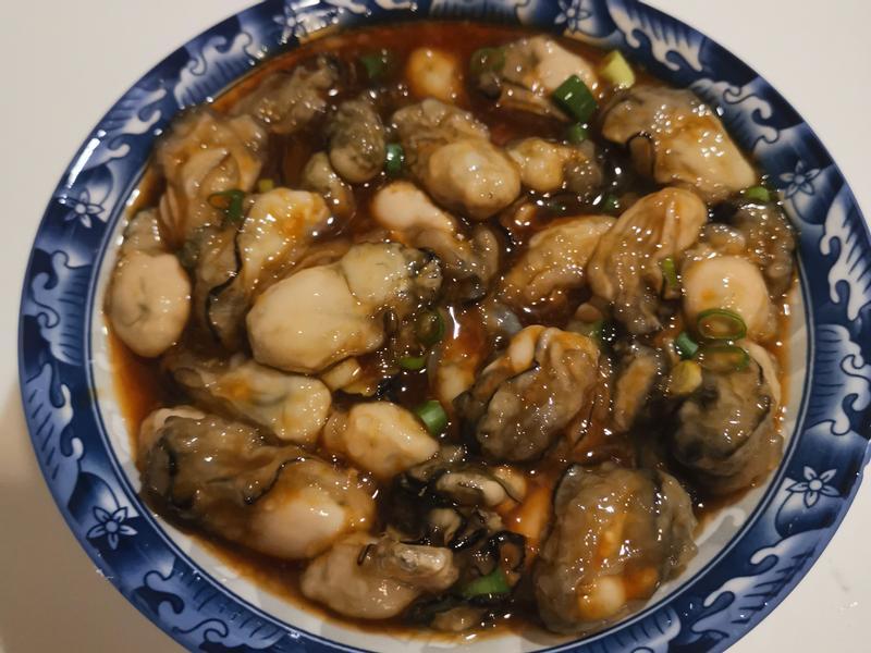 蒜蓉水晶牡蠣