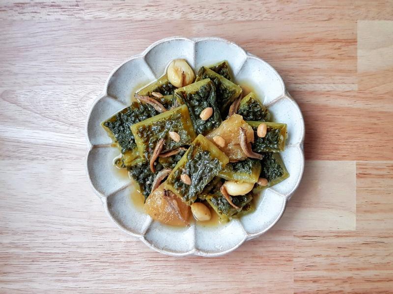 鳳梨醬燒山苦瓜 (康寶自然鮮-香菇)