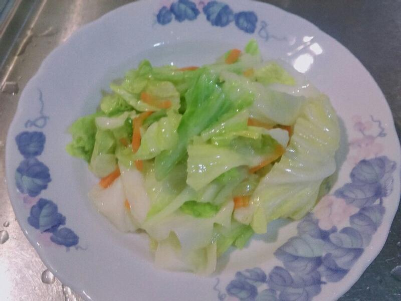 豬油炒高麗菜