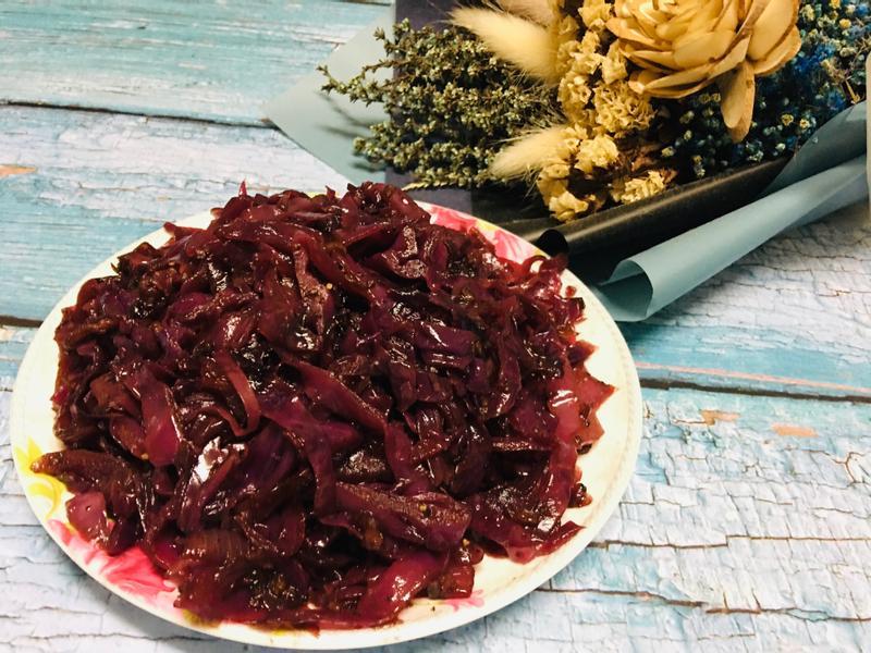 德式紫高麗開胃小菜~解油膩