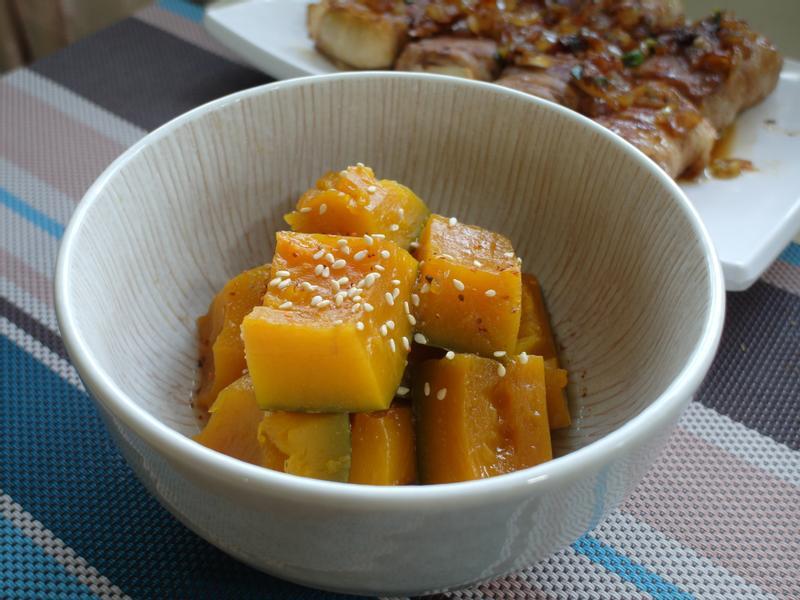 【家常菜】日式南瓜佃煮