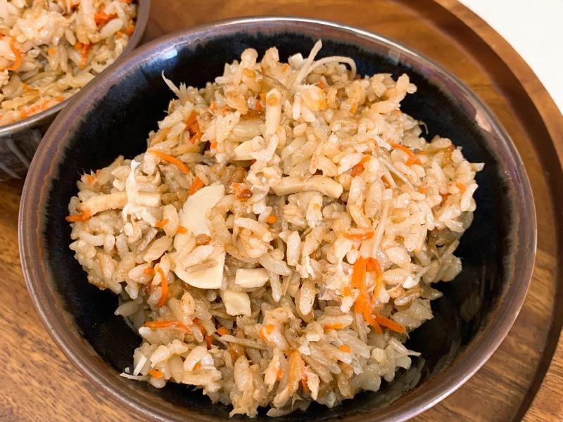 鮮筍鮪魚炊飯(電子鍋)