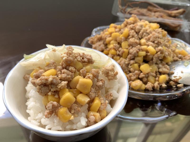 沙茶玉米肉末