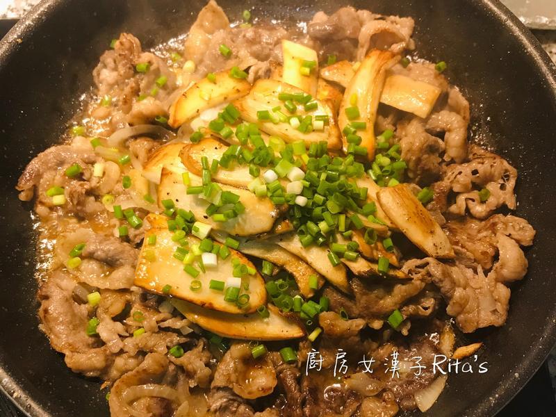 日式燒肉杏鮑菇