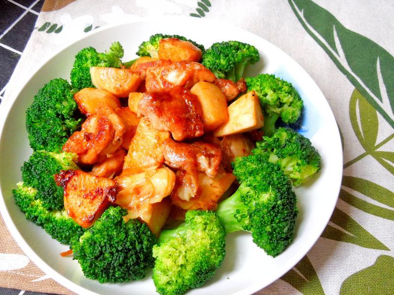 竹筍醬燒雞