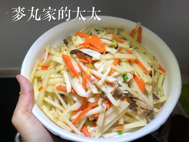 脆炒土豆絲