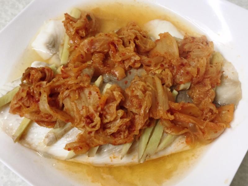 蒸鯛魚:泡菜口味(大眾版)