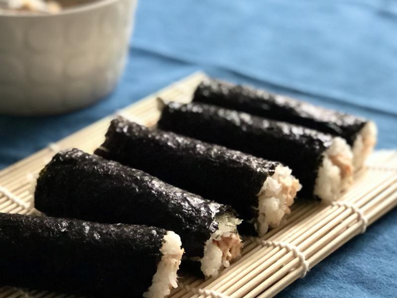 烤鮭魚壽司卷