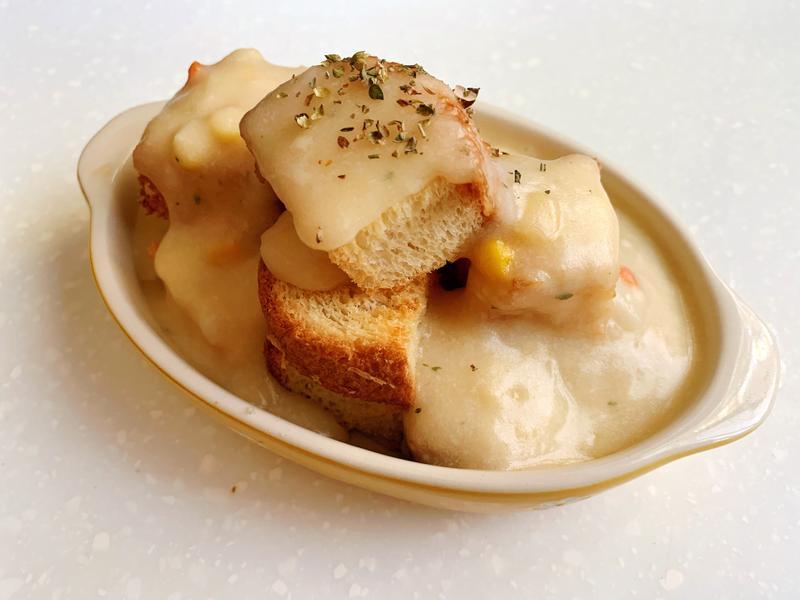 [烤箱料理]火山熔岩吐司