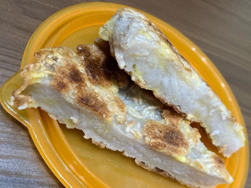 [寶寶]食材單純地瓜麵線煎餅