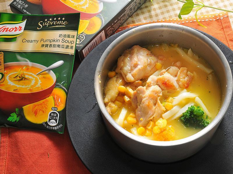 雞肉南瓜烏龍麵