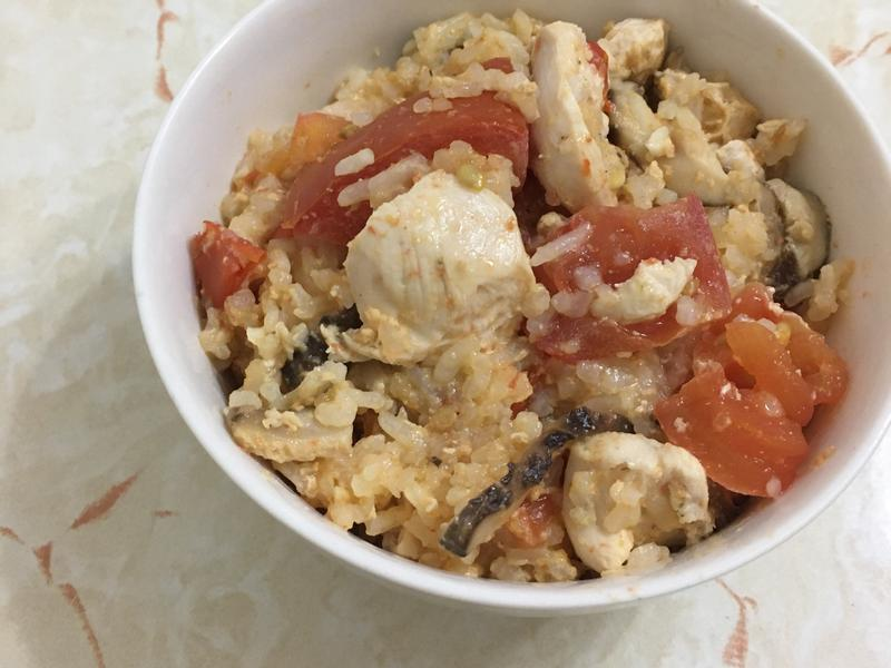 蕃茄雞肉炊飯
