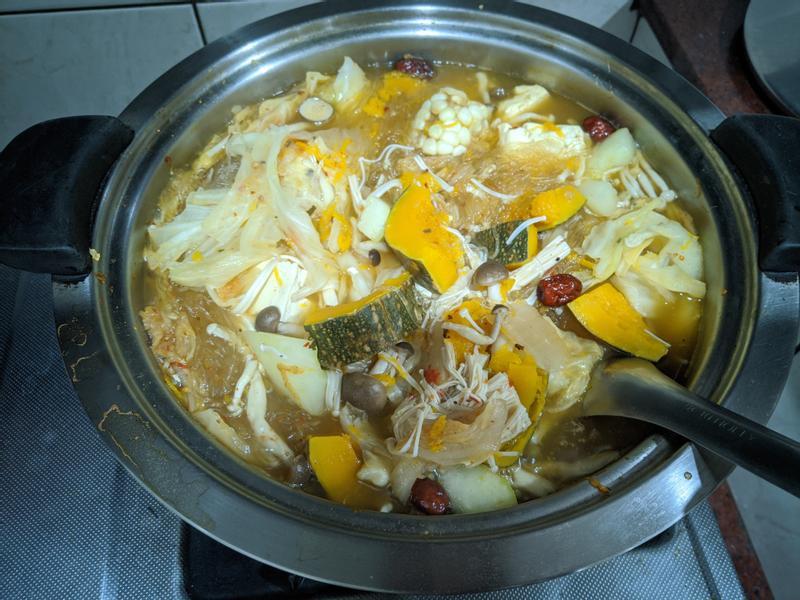 蔬菜麻辣鍋(純素)