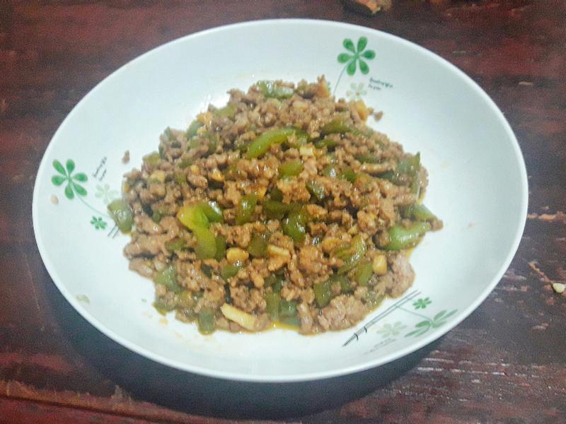 [輕鬆下廚] 青椒肉末