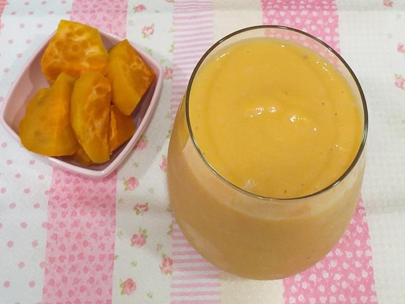 地瓜牛奶汁